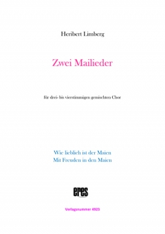 Zwei Mailieder (gemischter Chor)