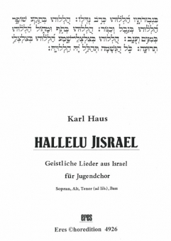 Hallelu Jisrael (mixed choir)