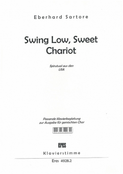 Swing Low, Sweet... (Klavier)