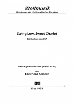 Swing Low, Sweet Chariot (gemischter Chor)