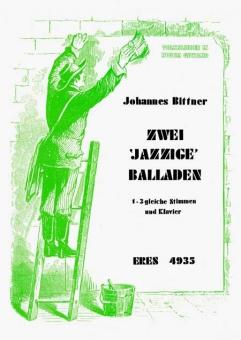 Zwei jazzige Balladen  (Frauenchor Partitur)