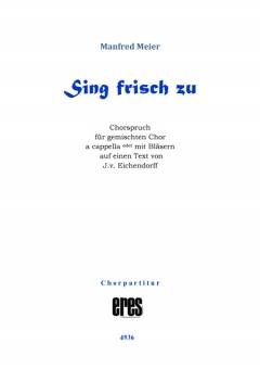 Sing frisch zu (gemischter Chor)