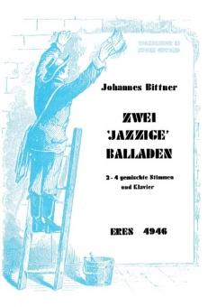 Zwei jazzige Balladen (gemischter Chor Partitur)