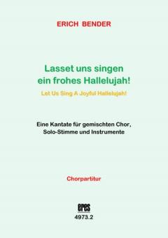 Lasset uns singen (Chorpartitur)