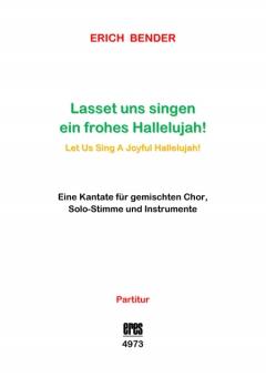 Let Us Sing A Joyful Hallelujah! (Score)