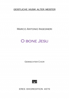 O bone Jesu (gemischter Chor)