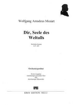 Dir, Seele des Weltalls (gemischter Chor / Männerchor) Orchesterpartitur