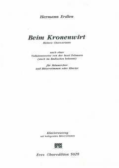 Beim Kronenwirt (Instrumental - Stimmen)