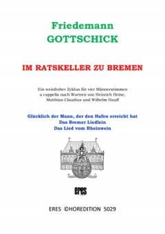 Im Ratskeller zu Bremen (Männerchor)