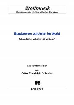 Blaubeeren wachsen im Wald (Männerchor)