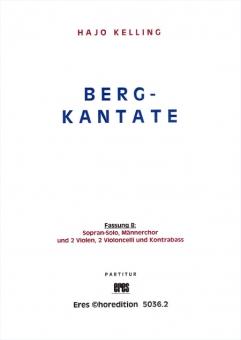 Berg-Kantate (Fassung B)