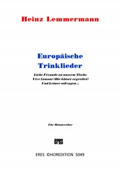 Europäische Trinklieder (Männerchor)
