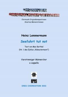 Seefahrt tut not (Männerchor)