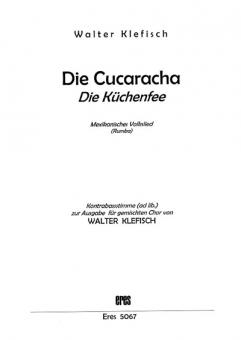 Die Cucaracha (gemischter Chor)