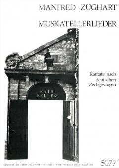 Muskatellerlieder (gemischter Chor, Part.)
