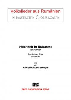 Hochzeit in Bukarest (gemischter Chor)