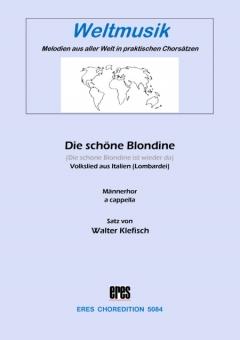 Die schöne Blondine (Männerchor)