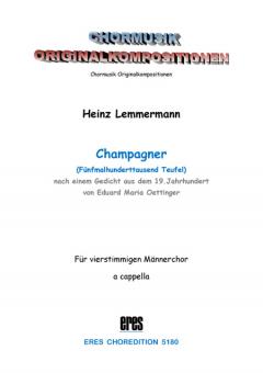 Champagner (Männerchor)