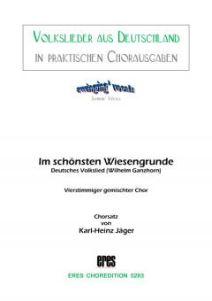 Im schönsten Wiesengrunde (gemischter Chor)