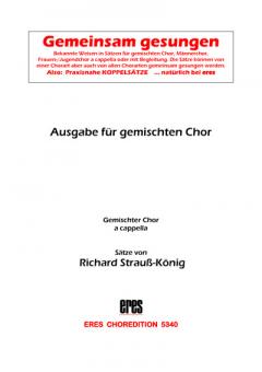 Gemeinsam gesungen (gemischter Chor)