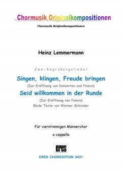 Singen, klingen... (Einzelausgabe) (Männerchor)