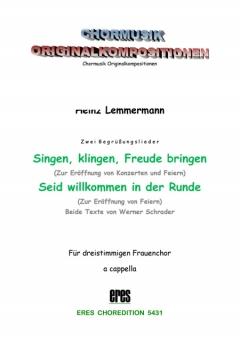 Singen, klingen ... (Einzelausgabe) (Frauenchor)