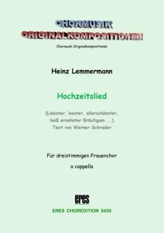 Hochzeitslied (Frauenchor)