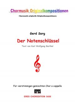 Der Notenschlüssel (gemischter Chor)