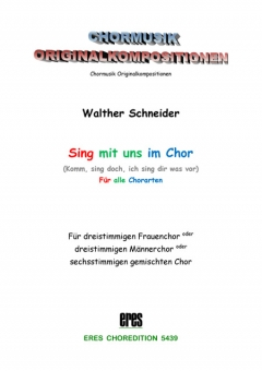 Singen im Chor (Frauen- o. Männerchor)