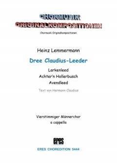 Dree Claudius-Leeder (Männerchor)