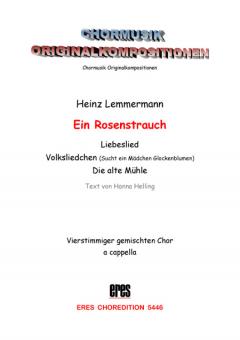 Der Rosenstrauch (gemischter Chor)