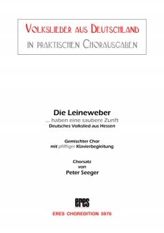 Die Leineweber (gemischter Chor)