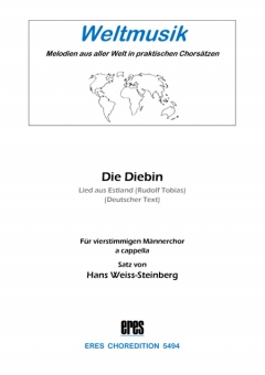 Die Diebin (male choir) 111