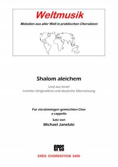Shalom aleichem (gem.Chor)