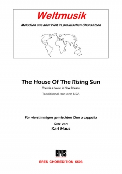 The House Of The Rising Sun (gemischter Chor)