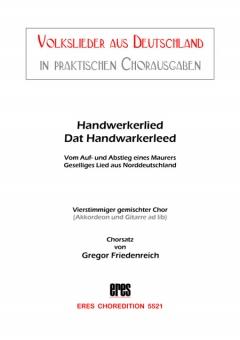 Handwerkerlied (gemischter Chor)