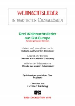 Drei deutsche Weihnachtslieder (gemischter Chor 3st)