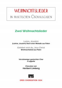 Zwei polnische Weihnachtslieder (gemischter Chor)