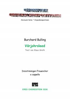 Vörjohrsleed (Frauenchor 3st)