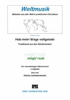 Hab mein Wage vollgeladen (Männerchor)
