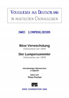 Zwei Lumpenlieder (Männerchor)