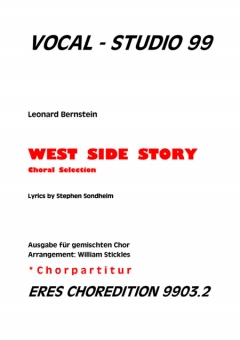 West Side Story (gemischter Chorpartitur)