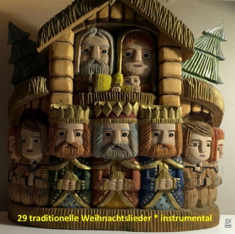 29 traditionelle Weihnachtslieder * instrumental (Download)