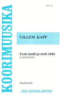 Eesti muld ja eesti süda (Männerchor)