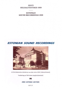 Estonian Sound Recording 1939
