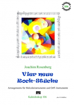 Four new Rock Pieces (melody instr. & orff)