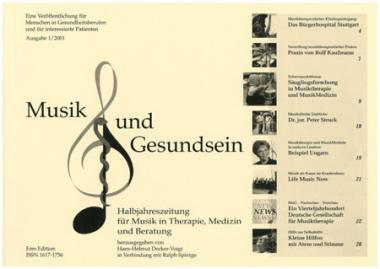 Musik und Gesundsein MUG-01