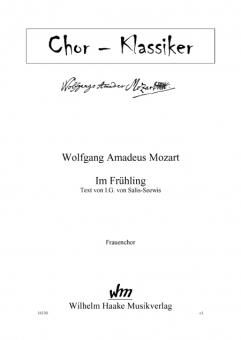 Im Frühling (Frauenchor)