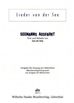 Seemanns Ausfahrt (Männerchor-Akkordeonbegleitung)
