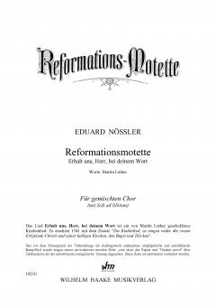 Reformationsmotette (gemischter Chor)